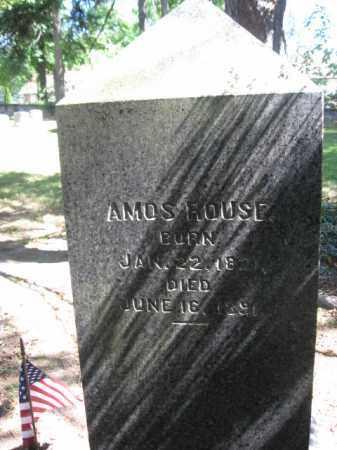 ROUSE, AMOS - Monroe County, Pennsylvania   AMOS ROUSE - Pennsylvania Gravestone Photos
