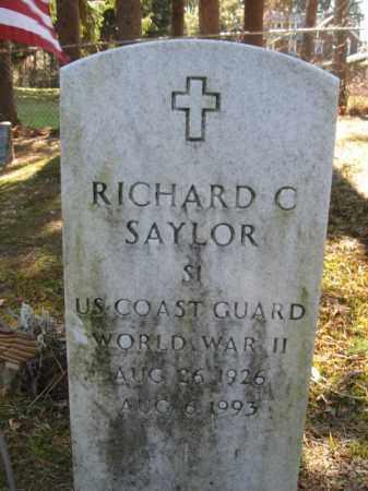 SAYLOR, RICHARD C. - Monroe County, Pennsylvania   RICHARD C. SAYLOR - Pennsylvania Gravestone Photos