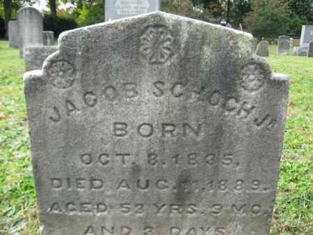 SCHOCH,JR., JACOB - Monroe County, Pennsylvania | JACOB SCHOCH,JR. - Pennsylvania Gravestone Photos