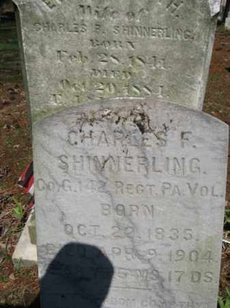 SHINNERLING (CW), CHARLES F. - Monroe County, Pennsylvania | CHARLES F. SHINNERLING (CW) - Pennsylvania Gravestone Photos