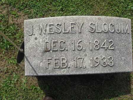 SLOCUM (CW), J. WESLEY - Monroe County, Pennsylvania | J. WESLEY SLOCUM (CW) - Pennsylvania Gravestone Photos