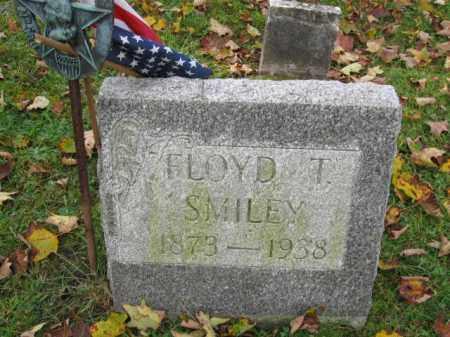 SMILEY, FLOYD T. - Monroe County, Pennsylvania   FLOYD T. SMILEY - Pennsylvania Gravestone Photos
