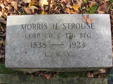 STROUSE (STROUSS)  (CW), CORP.MORRIS H. - Monroe County, Pennsylvania | CORP.MORRIS H. STROUSE (STROUSS)  (CW) - Pennsylvania Gravestone Photos