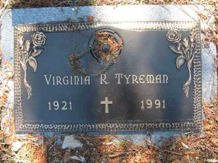 TYREMAN, VIRGINIA R. - Monroe County, Pennsylvania | VIRGINIA R. TYREMAN - Pennsylvania Gravestone Photos