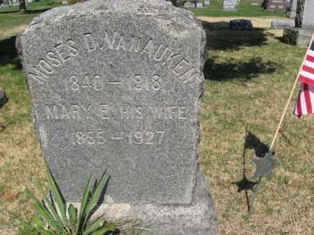 VAN AUKEN (CW), MOSES D. - Monroe County, Pennsylvania | MOSES D. VAN AUKEN (CW) - Pennsylvania Gravestone Photos