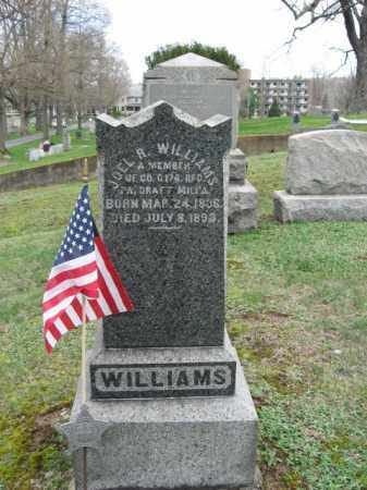 WILLIAMS, JOEL R. - Monroe County, Pennsylvania   JOEL R. WILLIAMS - Pennsylvania Gravestone Photos