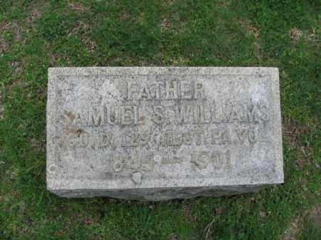 WILLIAMS, SAMUEL S. - Monroe County, Pennsylvania   SAMUEL S. WILLIAMS - Pennsylvania Gravestone Photos