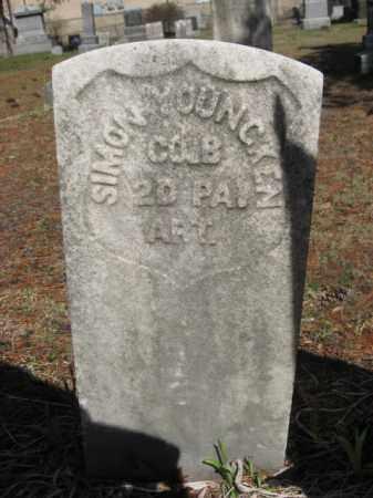 YOUNGKEN, SIMON - Monroe County, Pennsylvania   SIMON YOUNGKEN - Pennsylvania Gravestone Photos
