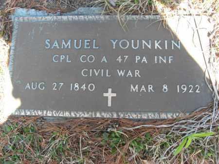 YOUNKIN (YOUNKEN) (CW), CORP.SAMUEL - Monroe County, Pennsylvania | CORP.SAMUEL YOUNKIN (YOUNKEN) (CW) - Pennsylvania Gravestone Photos