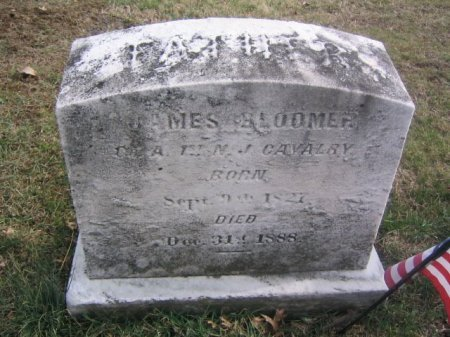BLOOMER (CW), JAMES - Montgomery County, Pennsylvania | JAMES BLOOMER (CW) - Pennsylvania Gravestone Photos