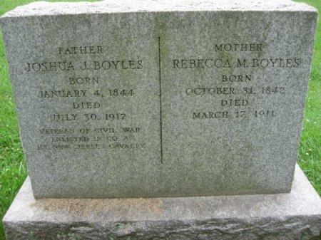 BOYLES, REBECCA M. - Montgomery County, Pennsylvania | REBECCA M. BOYLES - Pennsylvania Gravestone Photos