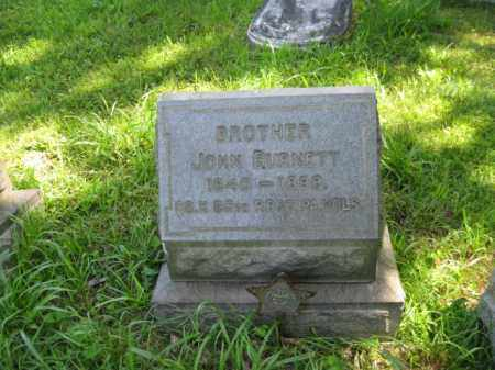 BURNETT (CW), JOHN - Montgomery County, Pennsylvania   JOHN BURNETT (CW) - Pennsylvania Gravestone Photos