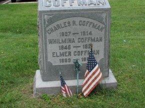 COFFMAN (CW), CHARLES R. - Montgomery County, Pennsylvania   CHARLES R. COFFMAN (CW) - Pennsylvania Gravestone Photos