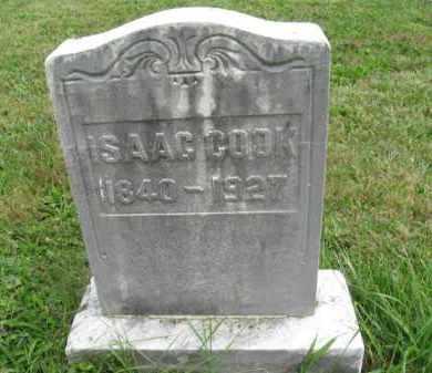 COOK, ISAAC - Montgomery County, Pennsylvania | ISAAC COOK - Pennsylvania Gravestone Photos