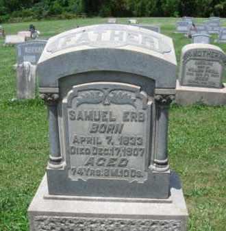 ERB (CW), SAMUEL - Montgomery County, Pennsylvania | SAMUEL ERB (CW) - Pennsylvania Gravestone Photos