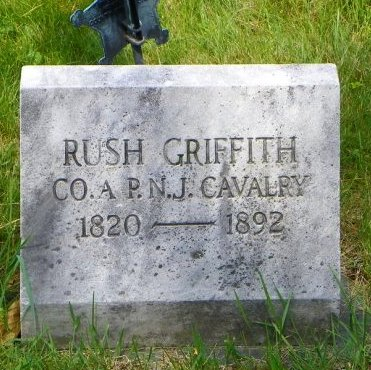 GRIFFITH (CW), RUSH - Montgomery County, Pennsylvania | RUSH GRIFFITH (CW) - Pennsylvania Gravestone Photos