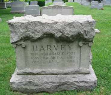 HARVEY (CW), ABRAHAM D. - Montgomery County, Pennsylvania | ABRAHAM D. HARVEY (CW) - Pennsylvania Gravestone Photos