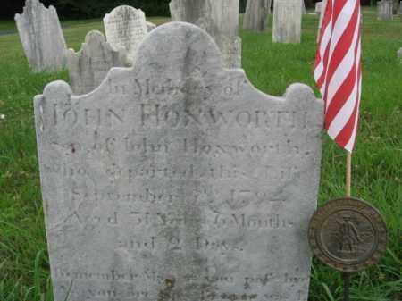 HOZWORTH, JOHN - Montgomery County, Pennsylvania   JOHN HOZWORTH - Pennsylvania Gravestone Photos