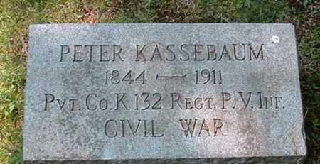 KASSEBAUM (CW), PETER - Montgomery County, Pennsylvania | PETER KASSEBAUM (CW) - Pennsylvania Gravestone Photos