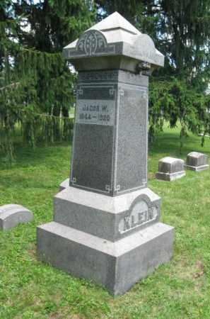 KLEIN, JACOB - Montgomery County, Pennsylvania | JACOB KLEIN - Pennsylvania Gravestone Photos