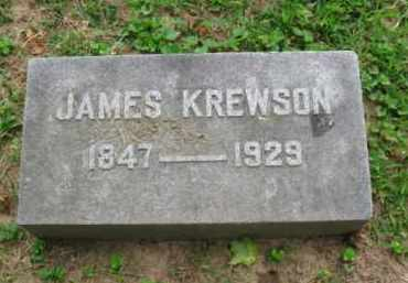 KREWSON, JAMES - Montgomery County, Pennsylvania | JAMES KREWSON - Pennsylvania Gravestone Photos
