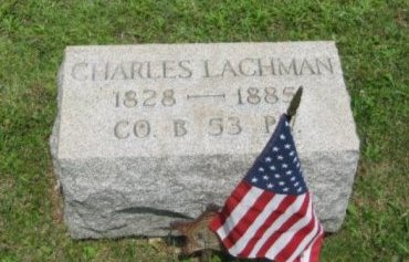 LACHMAN (CW), CHARLES - Montgomery County, Pennsylvania | CHARLES LACHMAN (CW) - Pennsylvania Gravestone Photos