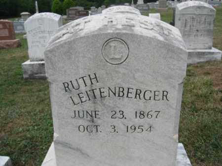 LEITENBERGER, RUTH - Montgomery County, Pennsylvania | RUTH LEITENBERGER - Pennsylvania Gravestone Photos