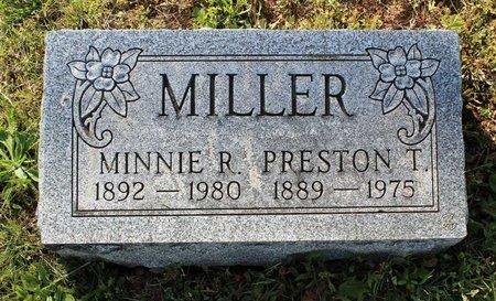 MILLER, PRESTON T. - Montgomery County, Pennsylvania   PRESTON T. MILLER - Pennsylvania Gravestone Photos