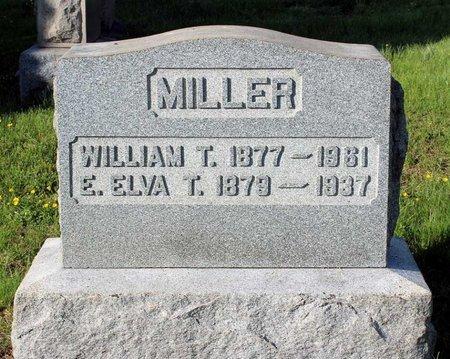 MILLER, WILLIAM T. - Montgomery County, Pennsylvania   WILLIAM T. MILLER - Pennsylvania Gravestone Photos