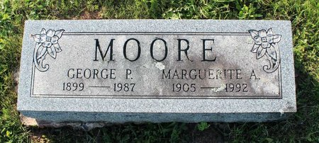 MOORE, MARGUERITE A. - Montgomery County, Pennsylvania | MARGUERITE A. MOORE - Pennsylvania Gravestone Photos