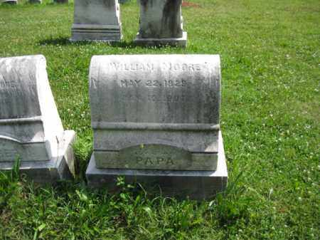 MOORE, WILLIAM - Montgomery County, Pennsylvania | WILLIAM MOORE - Pennsylvania Gravestone Photos