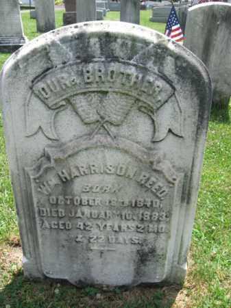 REED, WILLIAM HARRISON - Montgomery County, Pennsylvania | WILLIAM HARRISON REED - Pennsylvania Gravestone Photos