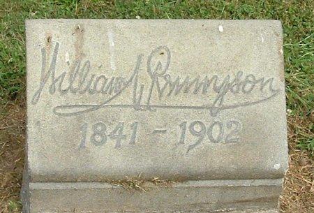 RENNYSON (CW), WILLIAM - Montgomery County, Pennsylvania | WILLIAM RENNYSON (CW) - Pennsylvania Gravestone Photos