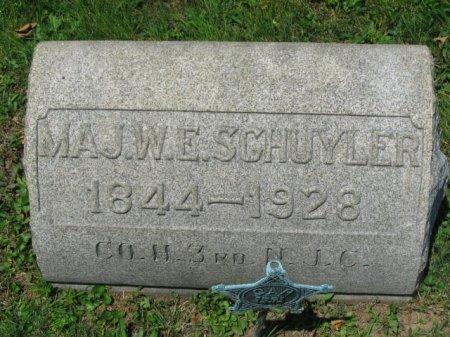 SCHUYLER (CW), WILLIAM E. - Montgomery County, Pennsylvania | WILLIAM E. SCHUYLER (CW) - Pennsylvania Gravestone Photos