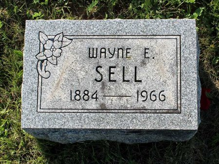 SELL, WAYNE E. - Montgomery County, Pennsylvania | WAYNE E. SELL - Pennsylvania Gravestone Photos