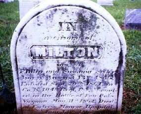 SELLERS (CW), PVT. MILTON - Montgomery County, Pennsylvania | PVT. MILTON SELLERS (CW) - Pennsylvania Gravestone Photos
