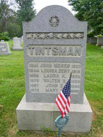 TINTSMAN (CW), JOHN MOSES - Montgomery County, Pennsylvania | JOHN MOSES TINTSMAN (CW) - Pennsylvania Gravestone Photos