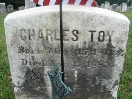 TOY (CW), SGT.CHARLES - Montgomery County, Pennsylvania | SGT.CHARLES TOY (CW) - Pennsylvania Gravestone Photos