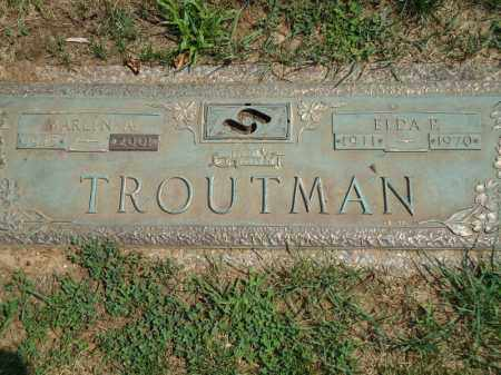 TROUTMAN, MARLIN ALBERT - Montgomery County, Pennsylvania | MARLIN ALBERT TROUTMAN - Pennsylvania Gravestone Photos