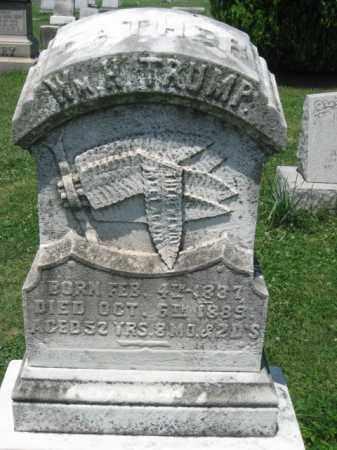 TRUMP, WILLIAM M. - Montgomery County, Pennsylvania | WILLIAM M. TRUMP - Pennsylvania Gravestone Photos