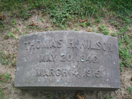 WILSON, THOMAS H. - Montgomery County, Pennsylvania | THOMAS H. WILSON - Pennsylvania Gravestone Photos