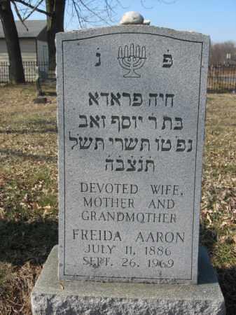 AAROB, FRIEDA - Northampton County, Pennsylvania | FRIEDA AAROB - Pennsylvania Gravestone Photos