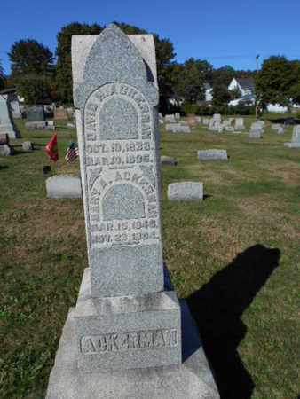 ACKERMAN (CW), DAVID H. - Northampton County, Pennsylvania | DAVID H. ACKERMAN (CW) - Pennsylvania Gravestone Photos