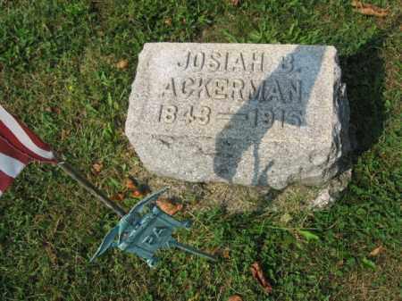 ACKERMAN (CW), JOSIAH B - Northampton County, Pennsylvania | JOSIAH B ACKERMAN (CW) - Pennsylvania Gravestone Photos