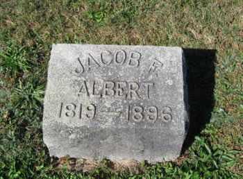 ALBERT, JACOB F. - Northampton County, Pennsylvania | JACOB F. ALBERT - Pennsylvania Gravestone Photos
