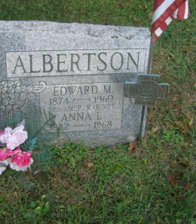 ALBERTSON, EDWARD M. - Northampton County, Pennsylvania | EDWARD M. ALBERTSON - Pennsylvania Gravestone Photos