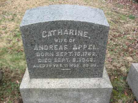 APPEL, CATHARINE - Northampton County, Pennsylvania   CATHARINE APPEL - Pennsylvania Gravestone Photos
