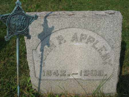 APPLEBY, JOHN P. - Northampton County, Pennsylvania | JOHN P. APPLEBY - Pennsylvania Gravestone Photos