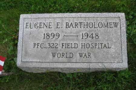 BARTHOLOMEW, EUGENE E. - Northampton County, Pennsylvania   EUGENE E. BARTHOLOMEW - Pennsylvania Gravestone Photos