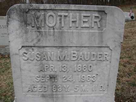 BAUDER, SUSAN M. - Northampton County, Pennsylvania | SUSAN M. BAUDER - Pennsylvania Gravestone Photos